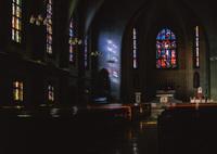 HASSELBLAD 503CXで撮影した(教会の朝)の写真(画像)