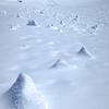 雪のピナクルズ