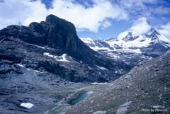 中年登山隊のスイスアルプス風雪流れ旅20
