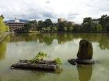 2016/10/18_奈良公園 猿沢池と衣掛柳の碑