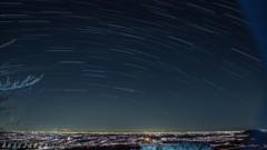 謙信平の夜景