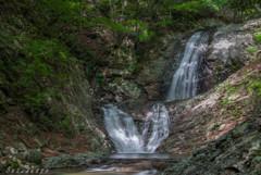 名勝「太閤下ろしの滝」
