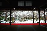 雪解けの十牛之庭