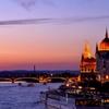 The Banks of the Danube Magic hour