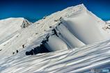 雪山アート