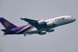 タイ国際航空 A380記念機 ②