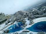 ☆温泉宿の朝景色