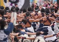 SONY ILCA-77M2で撮影した(日本ど真ん中祭り④心纏いさん)の写真(画像)