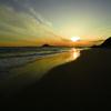 恋路ヶ浜 夕陽