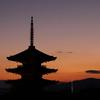 京都の夕焼け