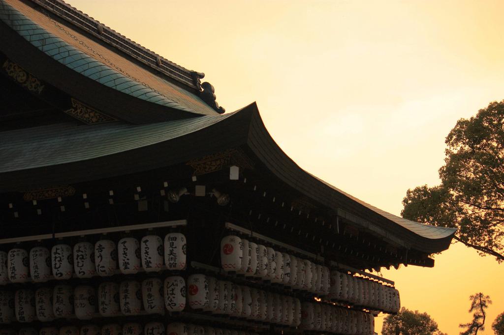 黄昏と神殿
