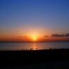 江ノ島の夕陽 HDR