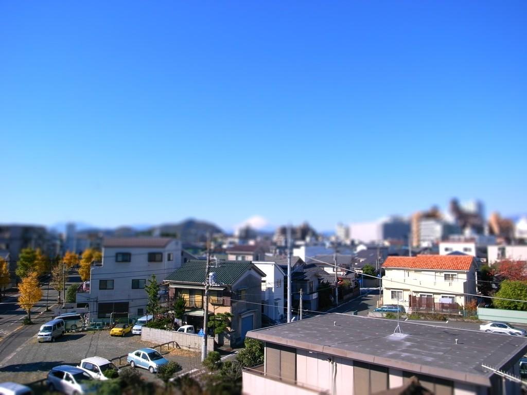 富士山 by TiltShiftMaker