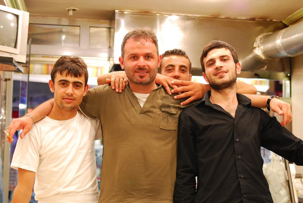 トルコの兄さん達