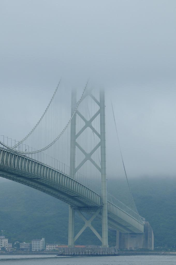 7月20日 明石海峡大橋