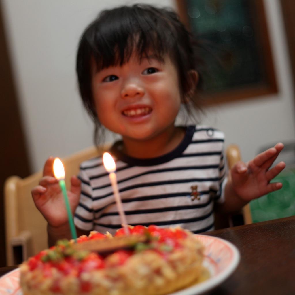 ケーキに感激!!!!!!!