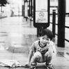 雨の日のバス停 #1