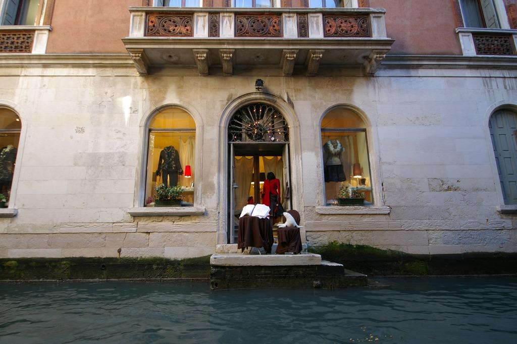 ヴェネツィアにて