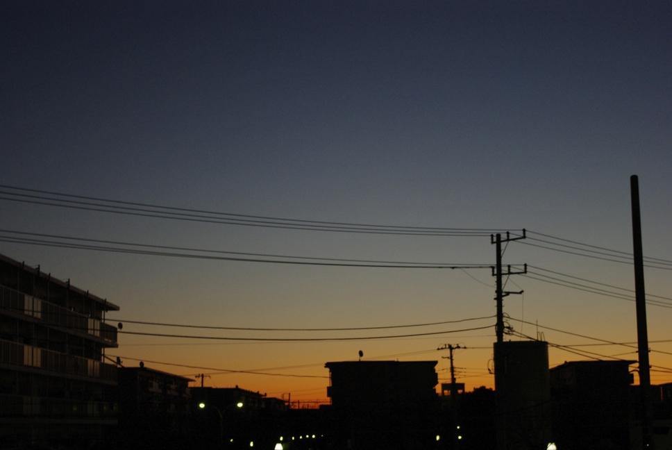 2009年 最初の朝焼け
