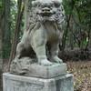 護国神社の狛犬様