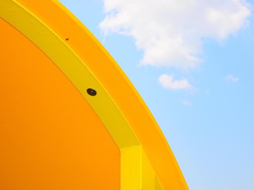 黄色い屋根