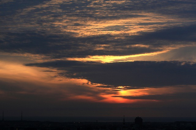 夕焼け雲 4