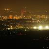 筑波山から土浦市内の眺め
