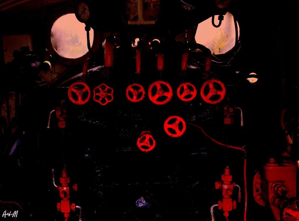 巨大ロボの操縦席