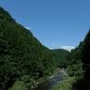 豊川の渓谷