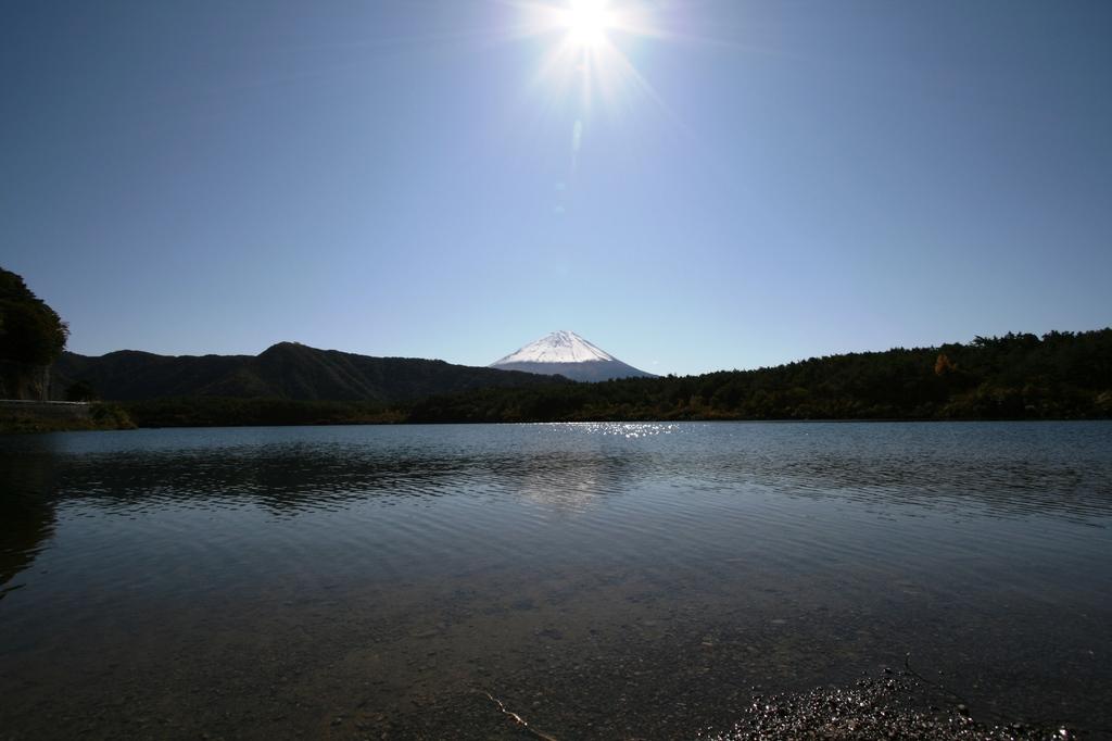 太陽と富士