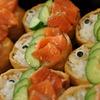 鯉のぼりのいなり寿司