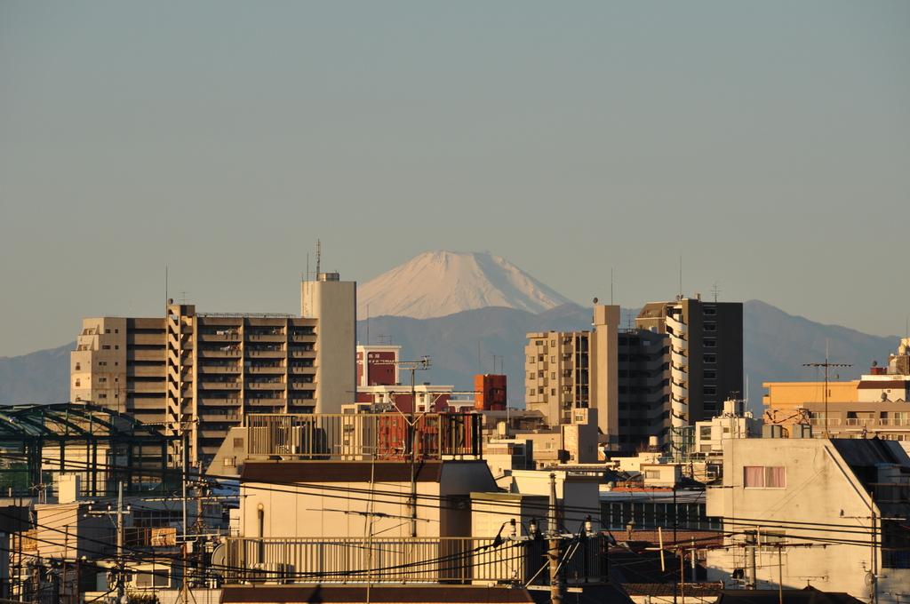 自宅で富士山