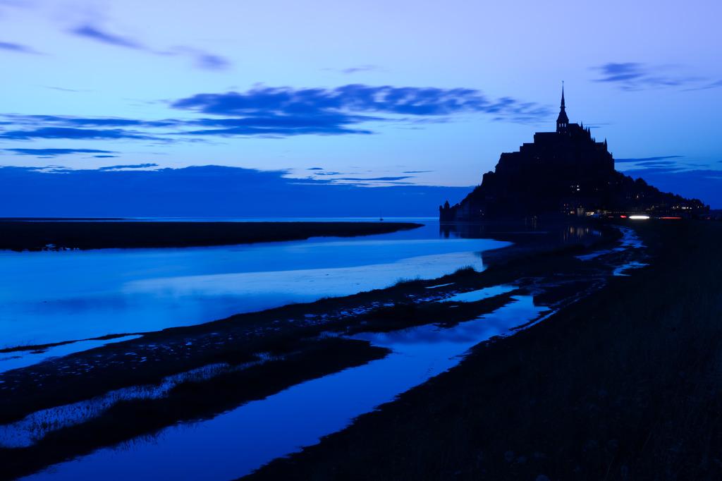 Blue Abbey St Michel