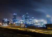 CANON Canon EOS 5D Mark IIで撮影した建物(PowerWorks in the Smoky-Blue-Night)の写真(画像)