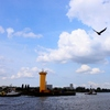 汽笛鳴り響く運河