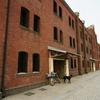 昼下がりの赤レンガ倉庫