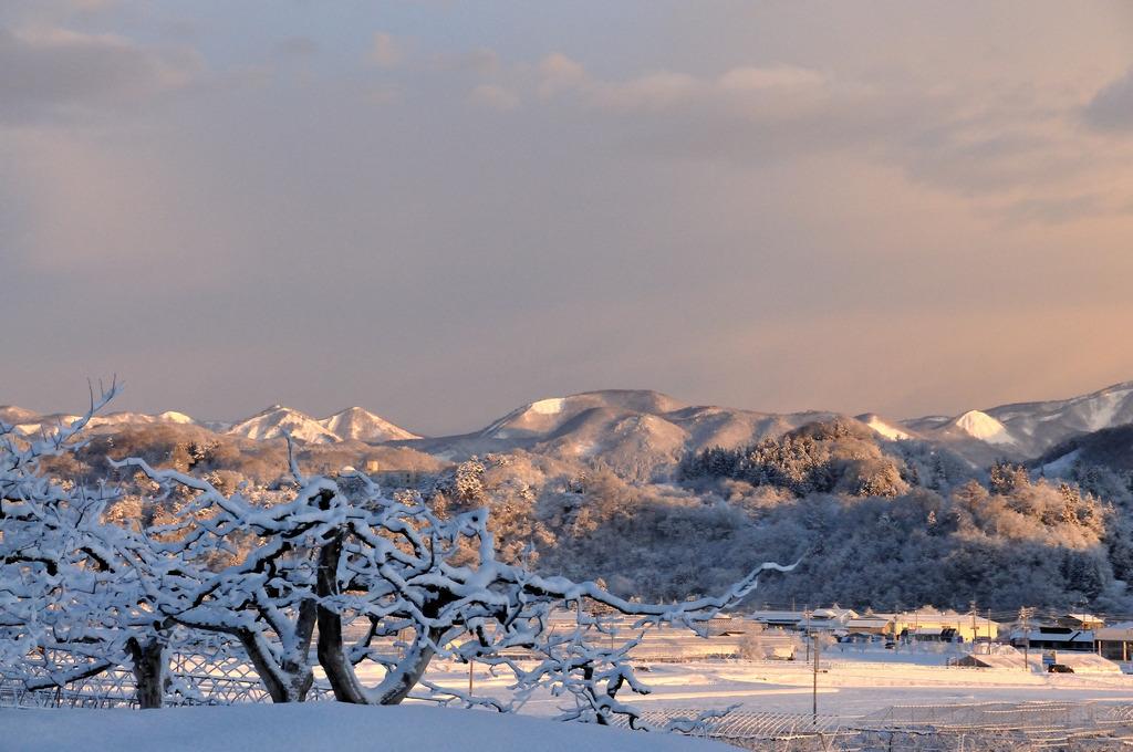 雪のある景色