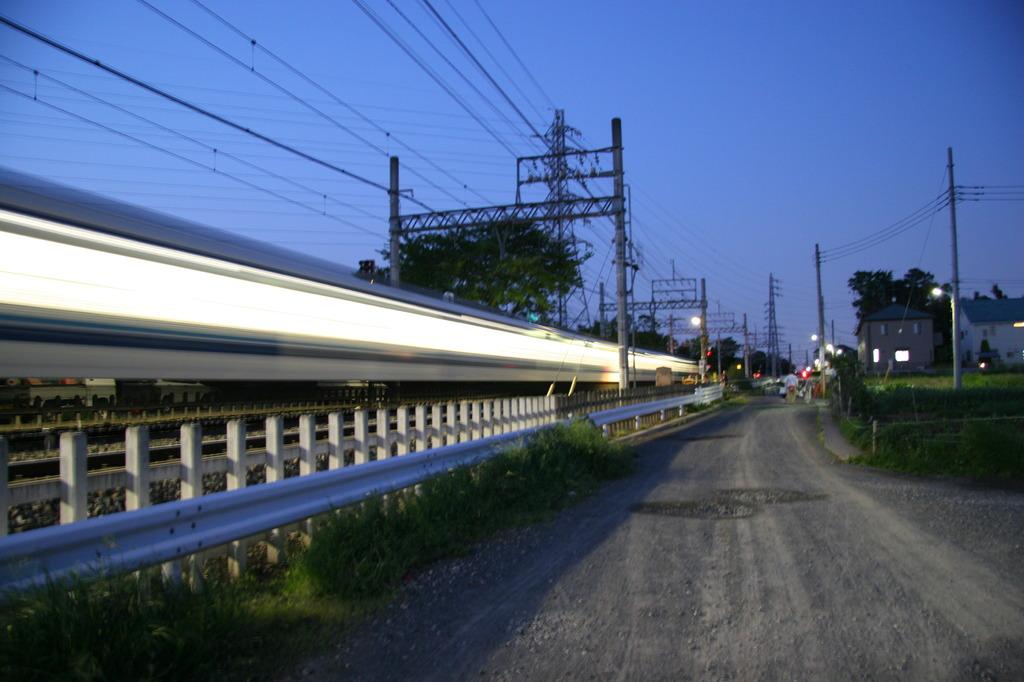 長~い電車