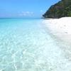 透き通る青い海と白い砂浜(改)