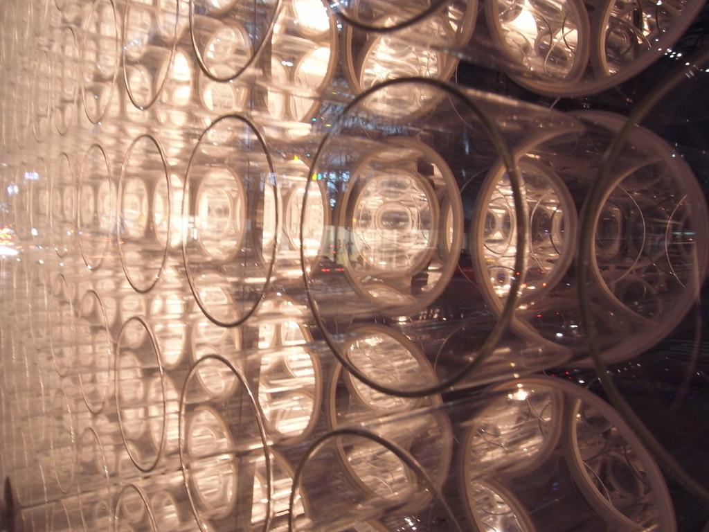グラスのファサード