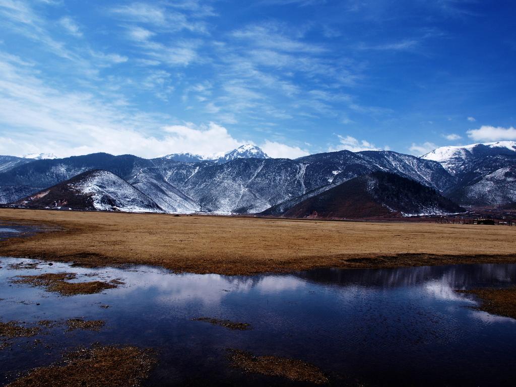 中国雲南省シャングリラ県 ナパ海