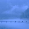 仁淀川 雨の印象