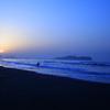 江ノ島の夜明け