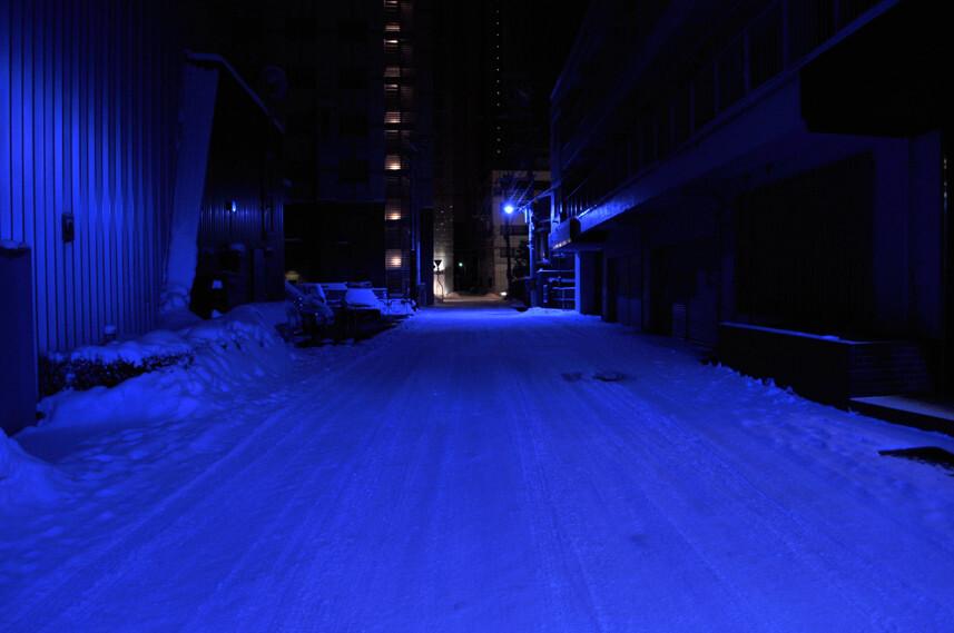 路地裏の静寂