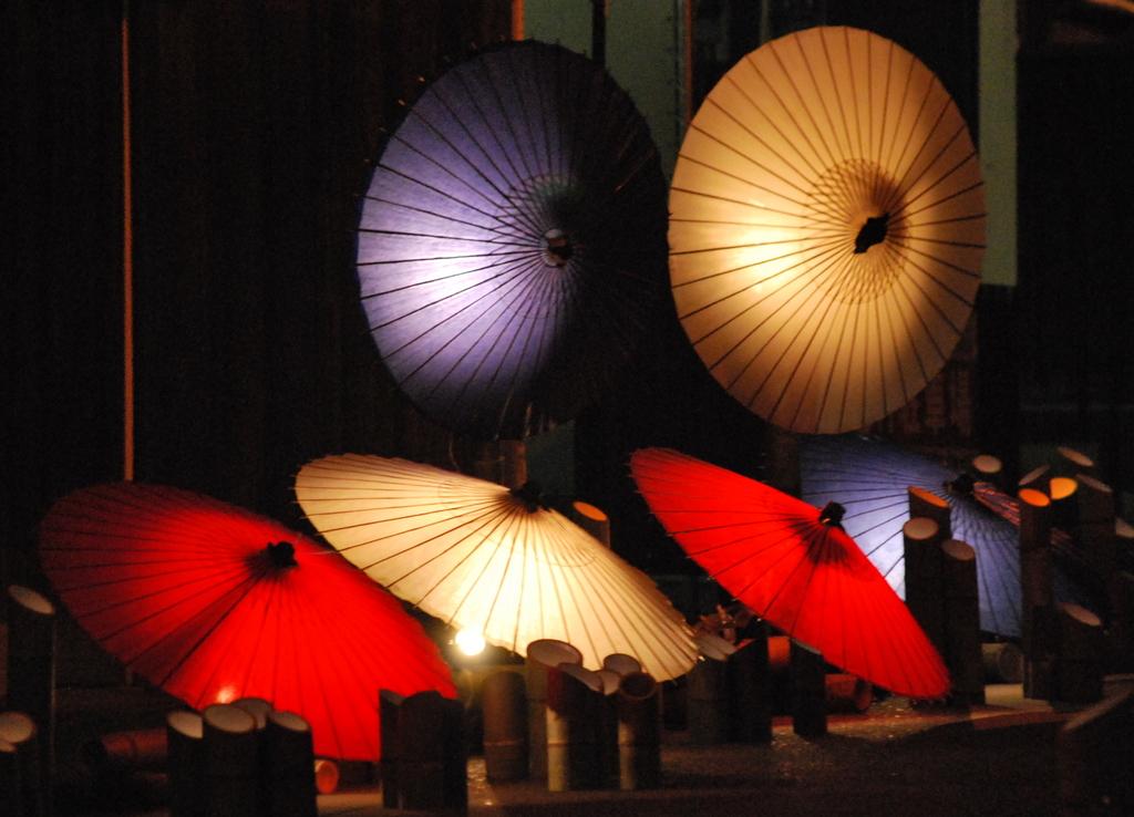 百華百彩-和傘