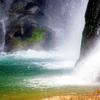 大川原峡の滝