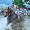 「泥の雨」  御田祭2009