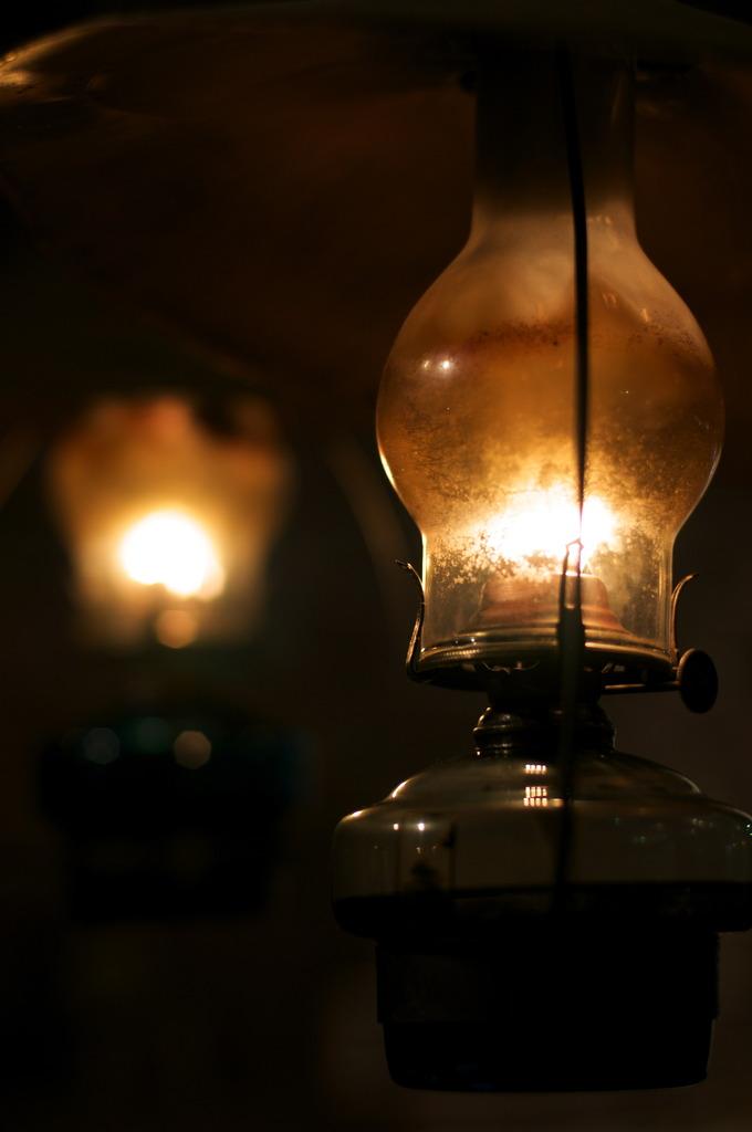 Spirit lamps