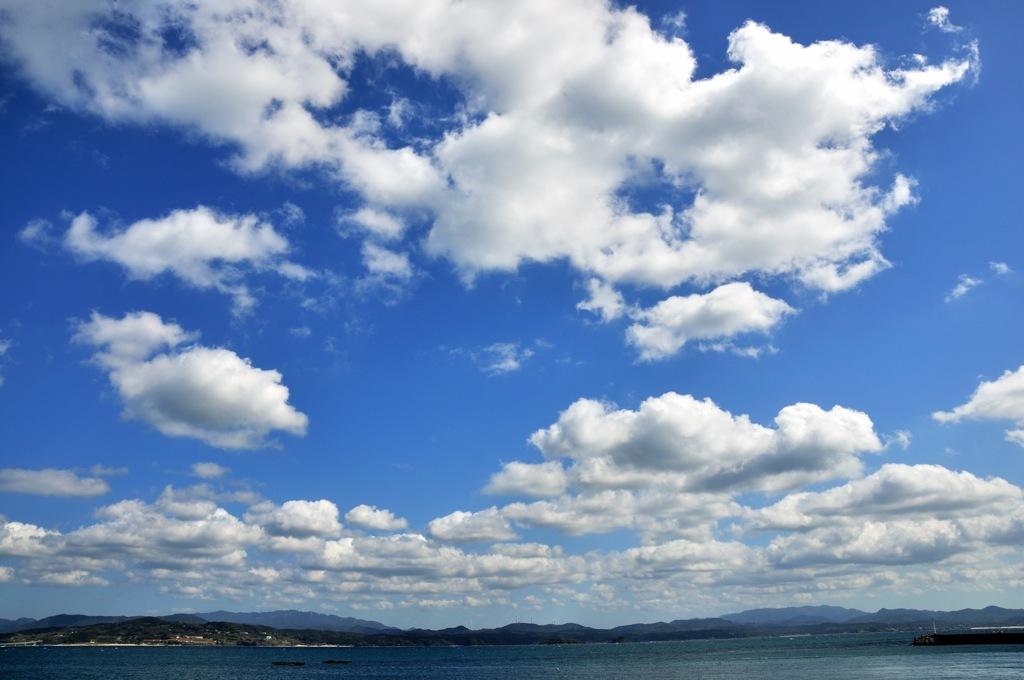 雲の運動会