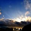 Explosion sky